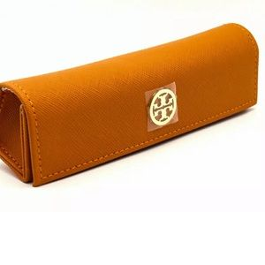 NEW TORY BURCH EYEGLASS CASE 100% Authentic